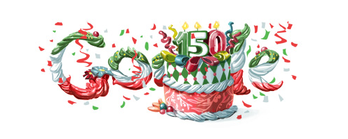 Google Logo Doodle Italy